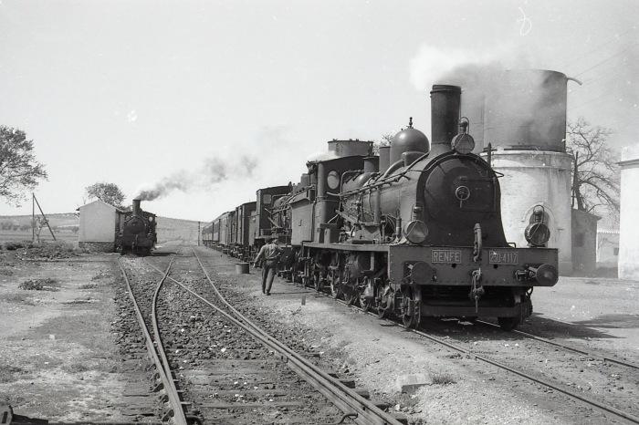 Locomotora 230 Ferrocarriles Andaluces